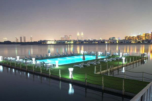 Nakheel unveils the UAE's first floating swimming pool