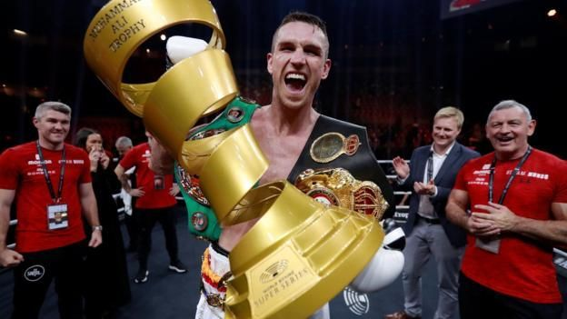 Smith knocks out Groves to claim WBA title in Jeddah