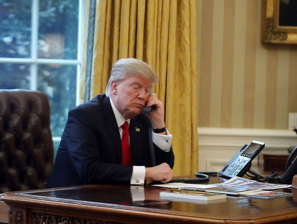 Trump discusses oil market, global economy in call to Saudi king