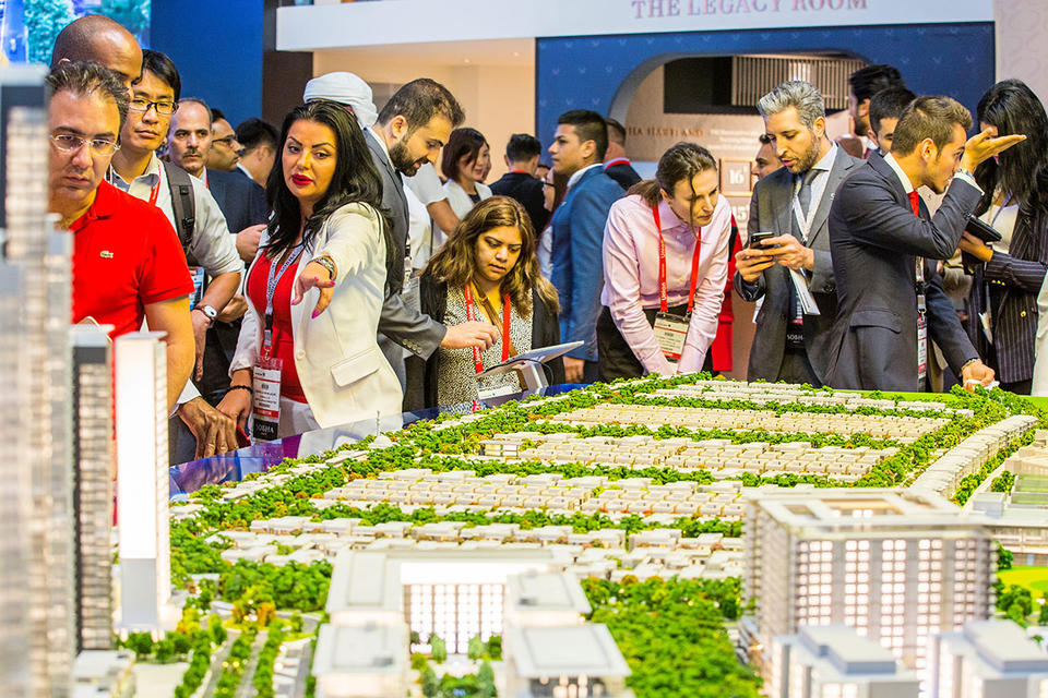 Global investors eye property deals at Dubai's Cityscape