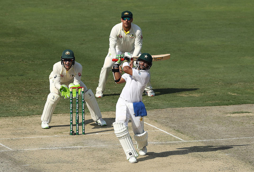Mohammad Hafeez helps Pakistan dominate opening day against Australia