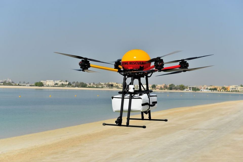Dubai unveils Flying Rescuer to keep public beaches safe