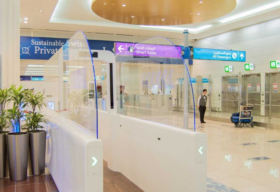 In pictures: 'Smart Tunnel' trialled at Dubai International Airport's Terminal 3