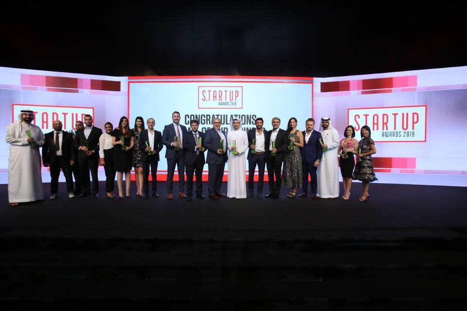 Peter Tignini wins Arabian Business StartUp Entrepreneur of the Year award