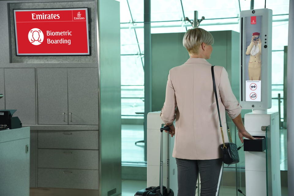 Emirates set to launch world's first 'biometric path' at Dubai Int'l