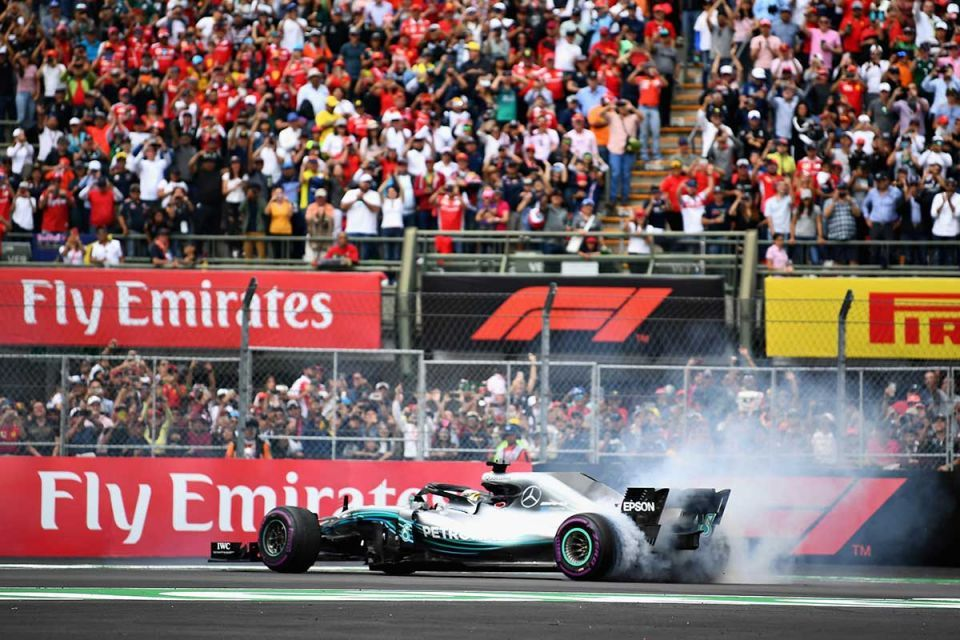In pictures: Lewis Hamilton won his fifth Formula One world title
