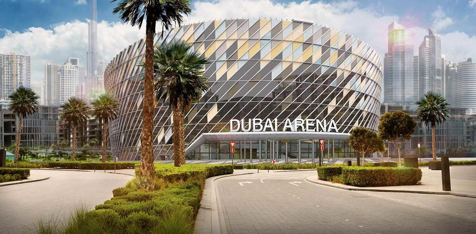 Dubai Arena on track for 2019 opening