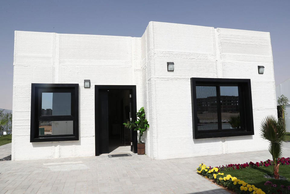 Saudi Arabia builds its first 3D printed house