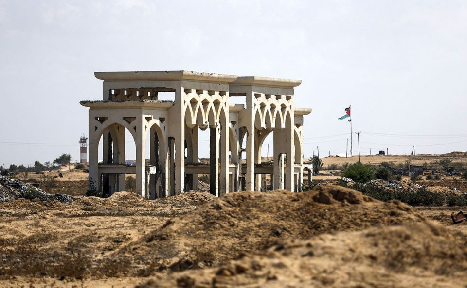 In pictures: Gaza's abandoned airport