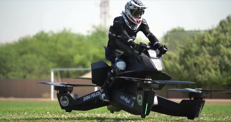 Dubai Police Starts Training On Flying Bikes Eyes 2020 Launch Arabianbusiness