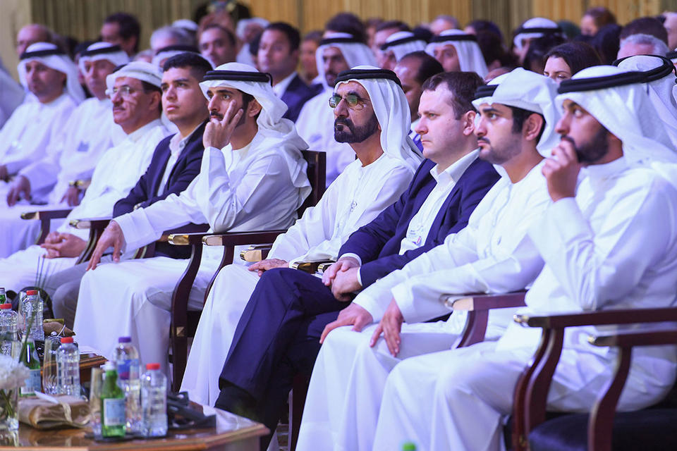 In pictures: Sheikh Mohammed attends WEF's Global Future Councils in Dubai