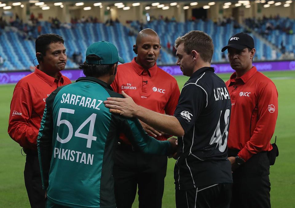 Dubai rain washes away Pakistan's chance of series win over New Zealand
