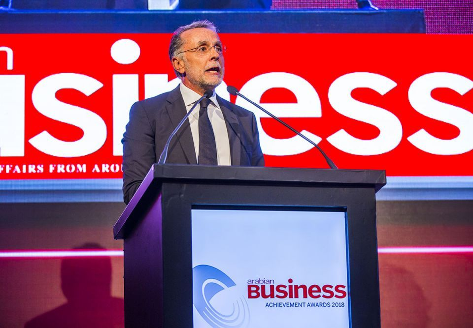 Fadi Ghandour dedicates award to Arab start-ups 'creating a new world'