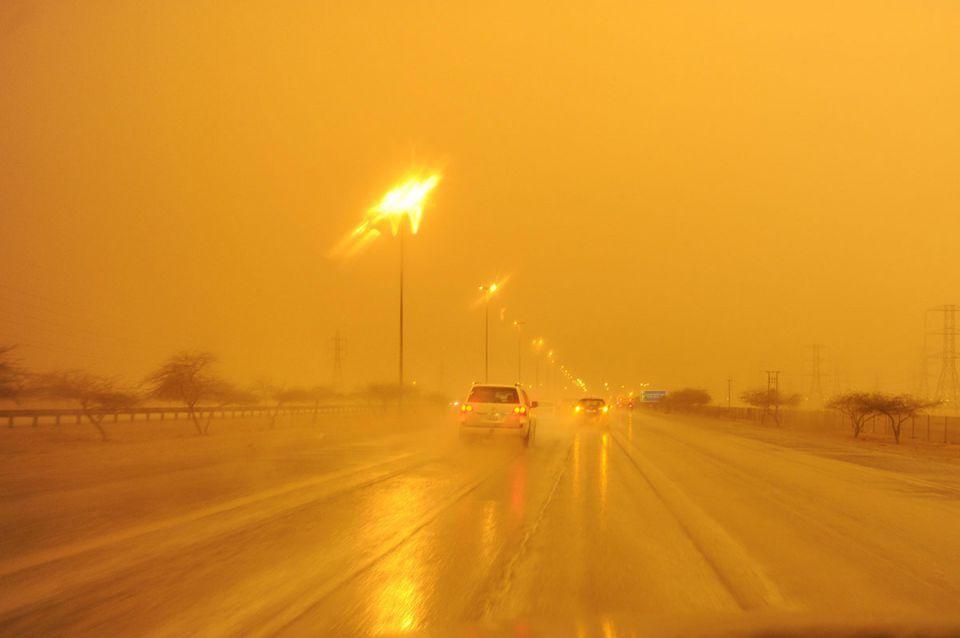 Heavy rains unearth Iraqi mines in Kuwait desert