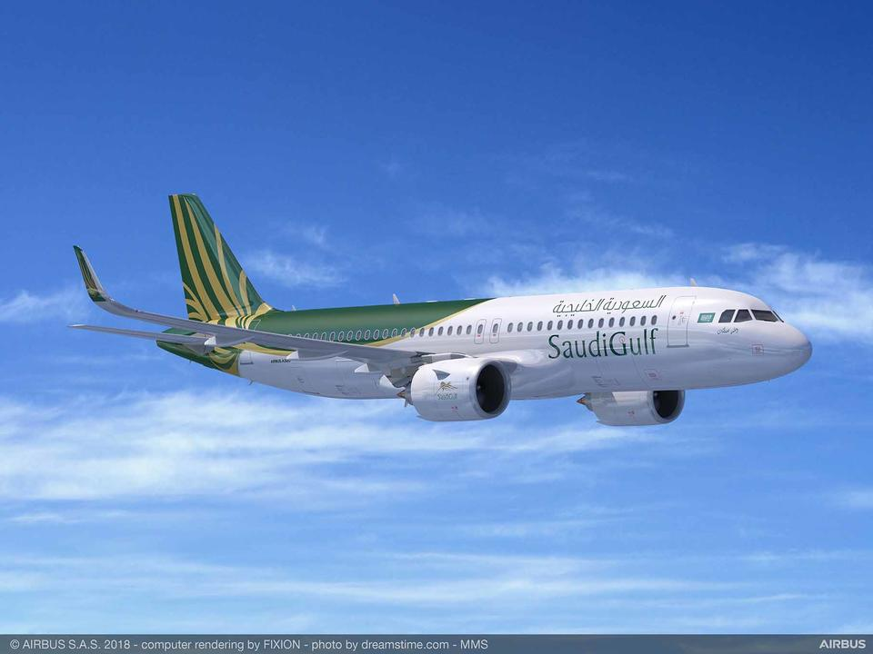 SaudiGulf Airlines signs deal to buy 10 A320neo planes