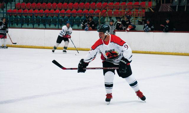 How one Russian expat aims to make the UAE an ice hockey force