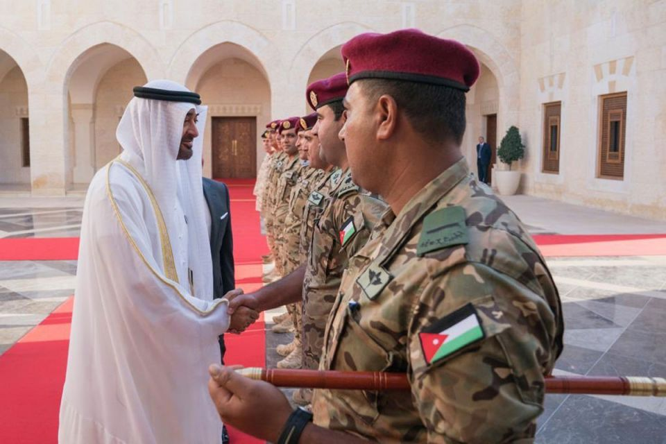 In pictures: Sheikh Mohamed bin Zayed's visit to Amman