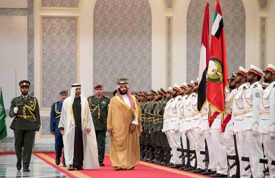 Saudi crown prince arrives in the UAE as part of regional tour
