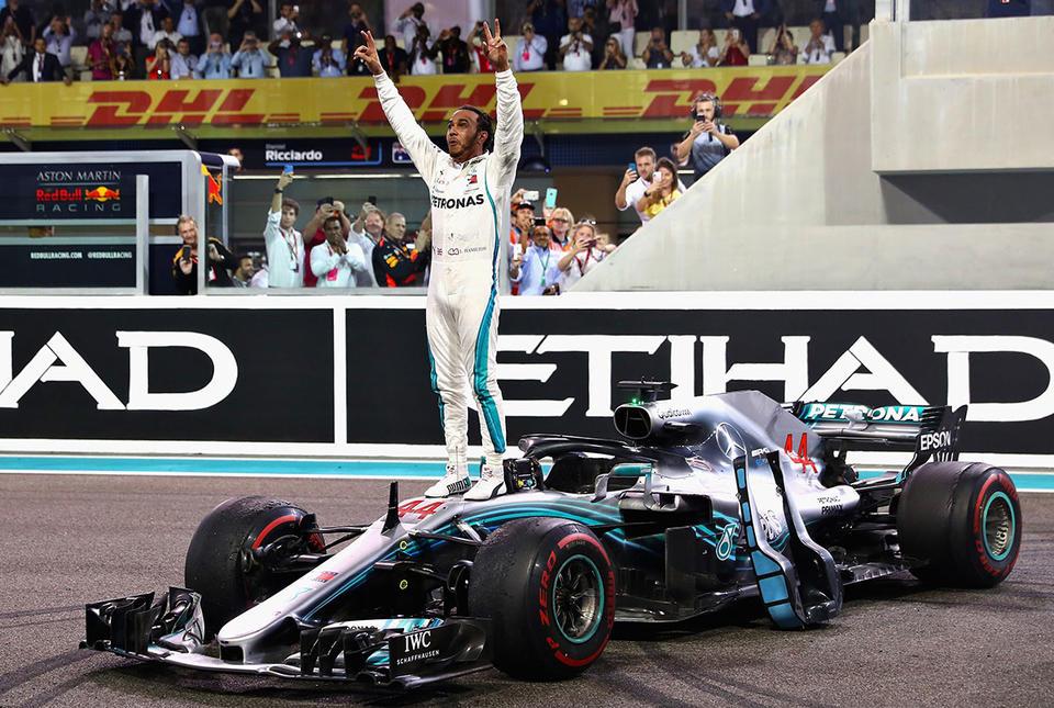 World champion Hamilton victorious at Abu Dhabi Grand Prix