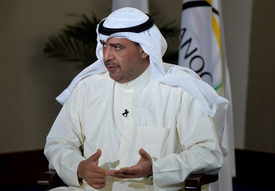 Kuwait's Sheikh Ahmad steps down from top Olympic body