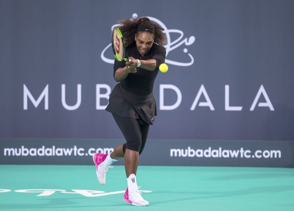 Serena Williams to take on sister Venus in Abu Dhabi tournament