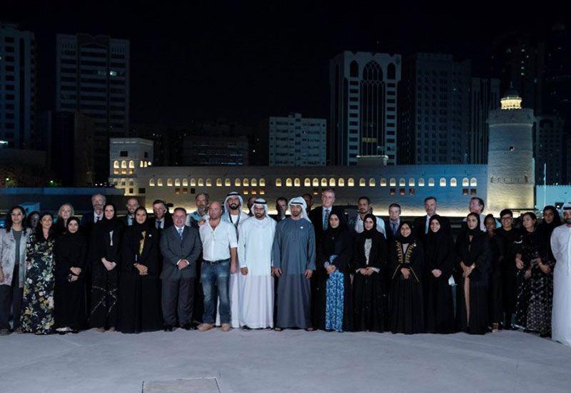 Crown Prince of Abu Dhabi opens historical Qasr Al Hosn site