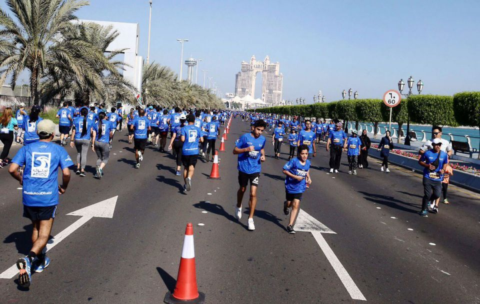 In pictures: Over 10,000 participants from 119 nationalities participate in ADNOC Abu Dhabi Marathon