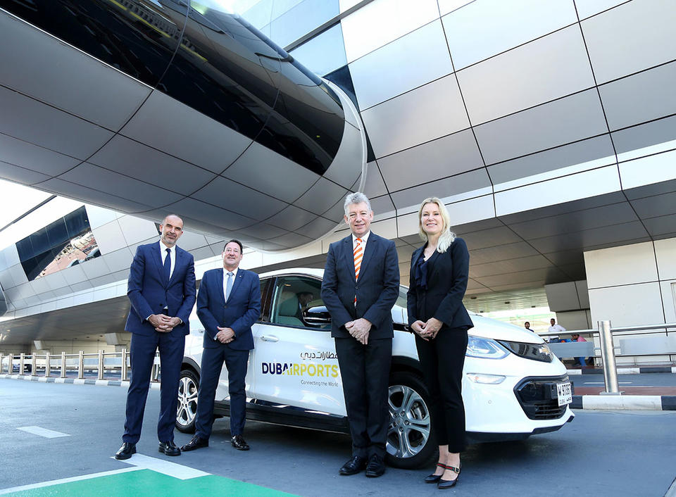 Dubai International adds electric power to its fleet