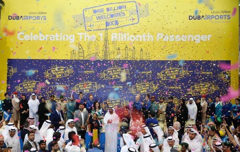 Dubai International Airport welcomes 1 billionth passenger