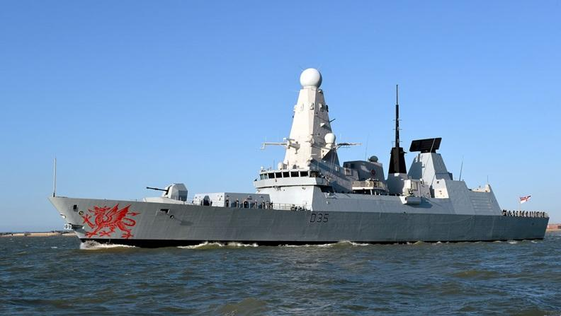 UK Navy warship makes record narcotics bust in the Gulf