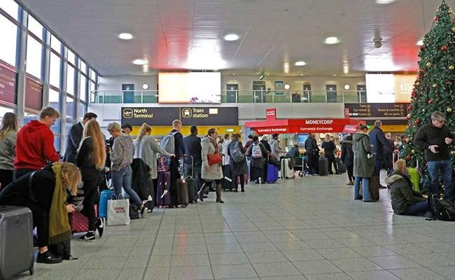Two arrests made over London airport drone chaos