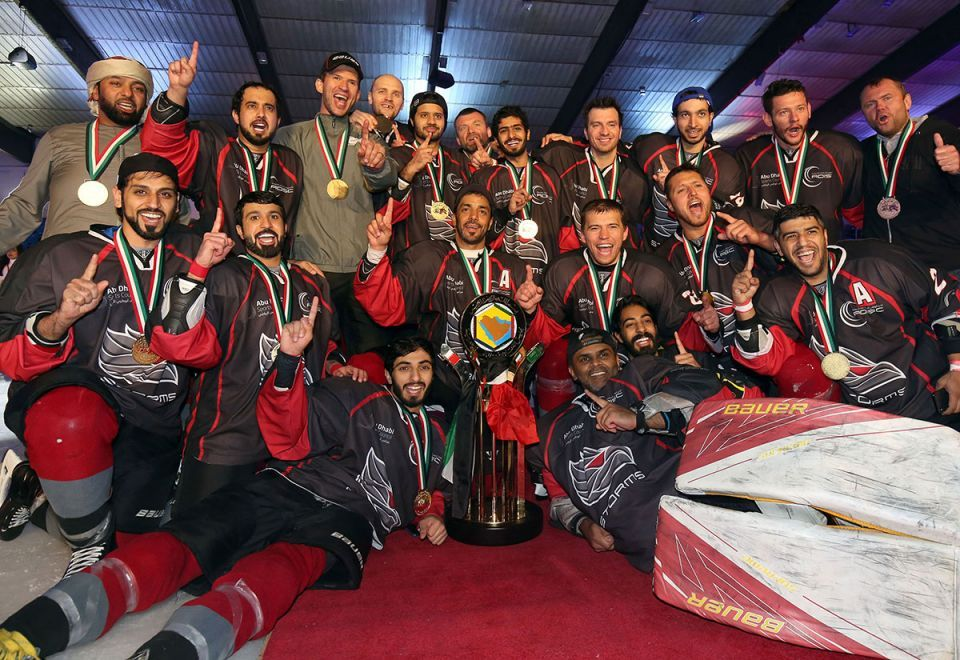In pictures: Abu Dhabi Storms crushes Kuwait Stars in GCC Hockey Championship final