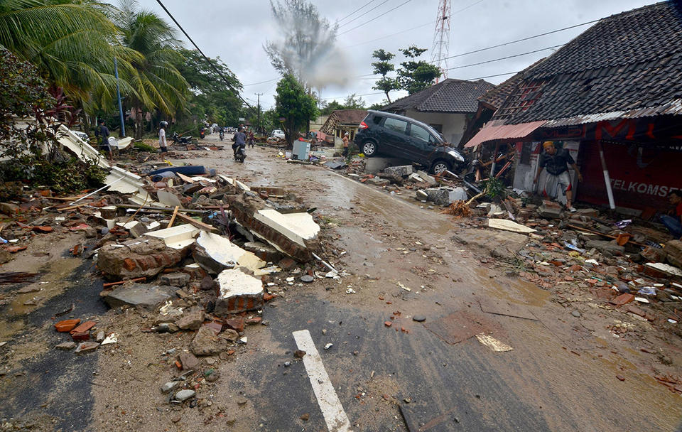 UAE embassy warns Emiratis to be cautious after Indonesia tsunami