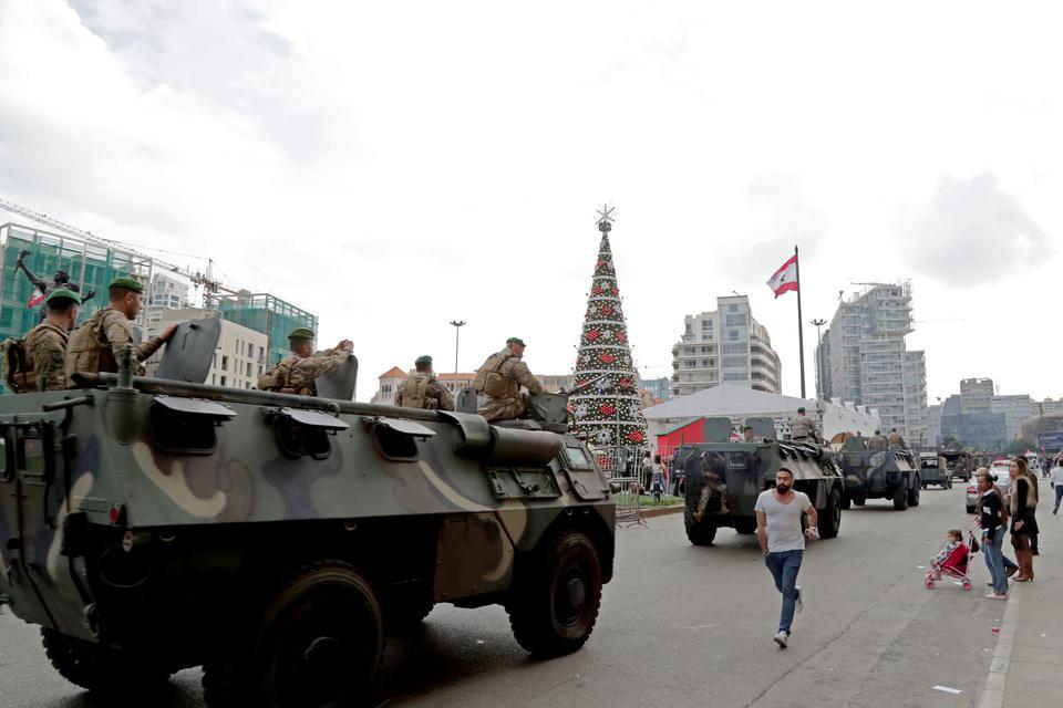 Protests rock Lebanon as anger mounts over economy, political deadlock