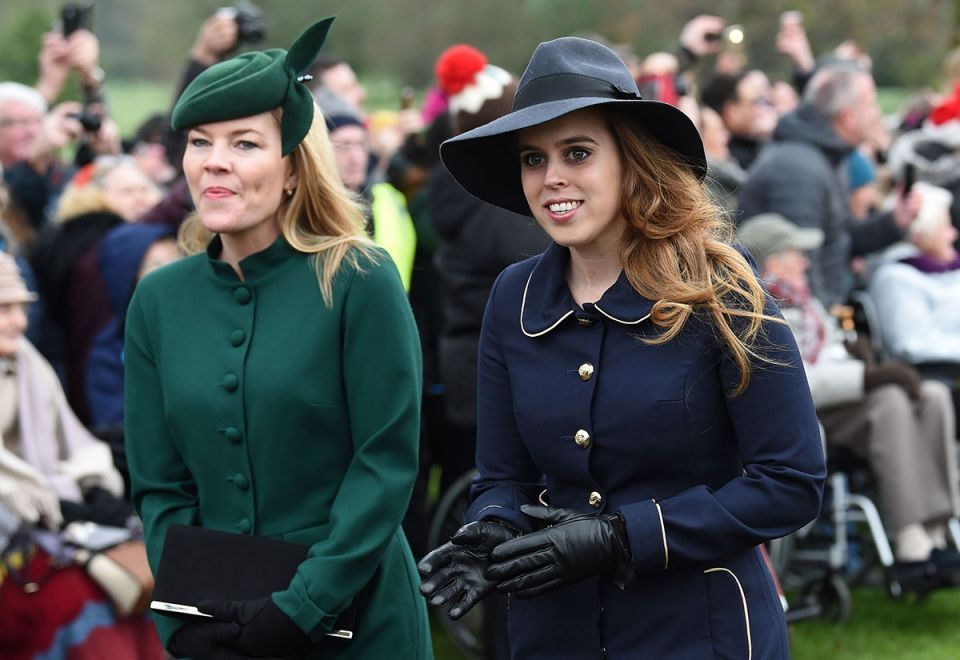 In pictures: Britain's royals attend Christmas Day church service at Sandringham
