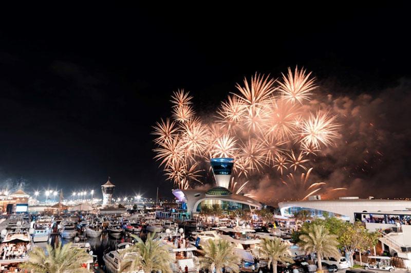 Abu Dhabi announces record breaking fireworks for NYE