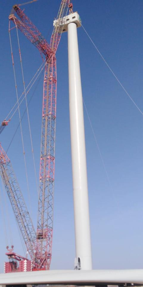 Masdar gets started on GCC's first and largest commercial wind farm in Oman