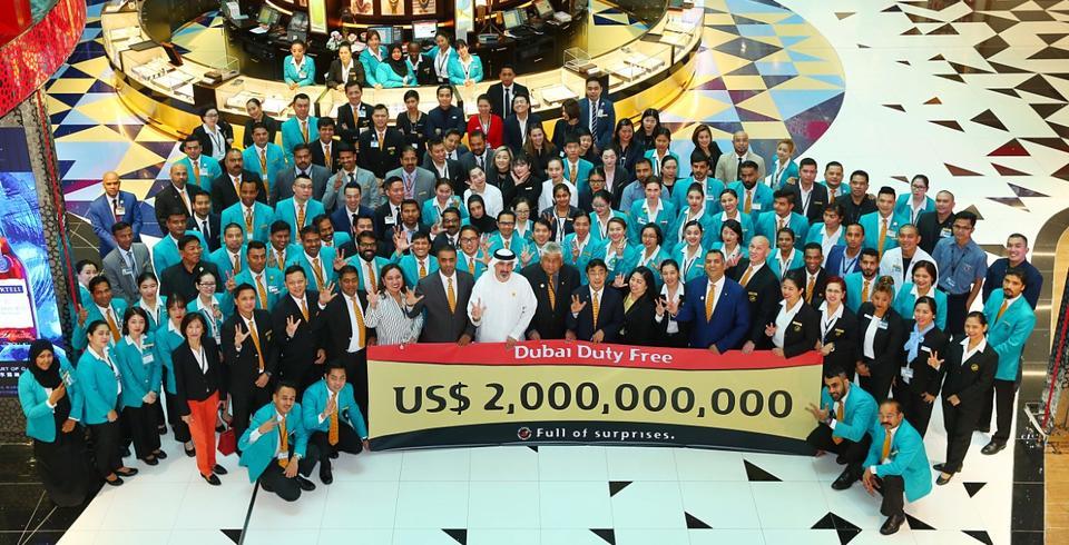Danish couple helps Dubai Duty Free hit $2bn sales target
