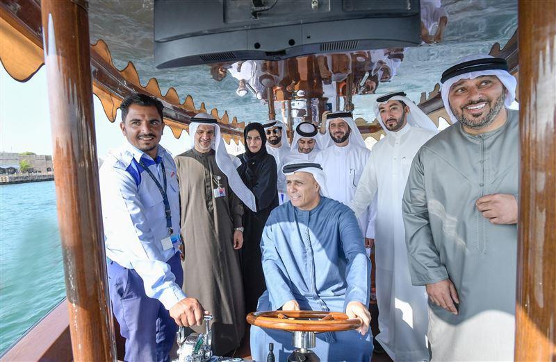 Dubai launches test of new hybrid abra, plans marine expansion
