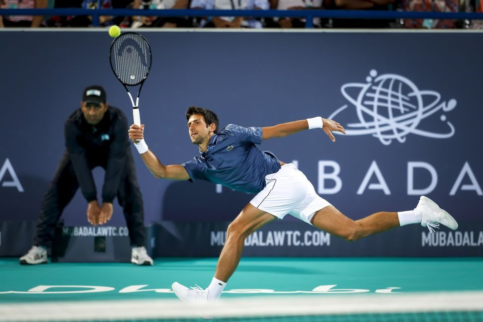 Djokovic equals Nadal with fourth Mubadala World Tennis Championship title