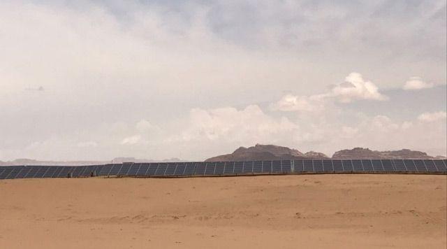 Jordan renames solar plant after UAE's founding father