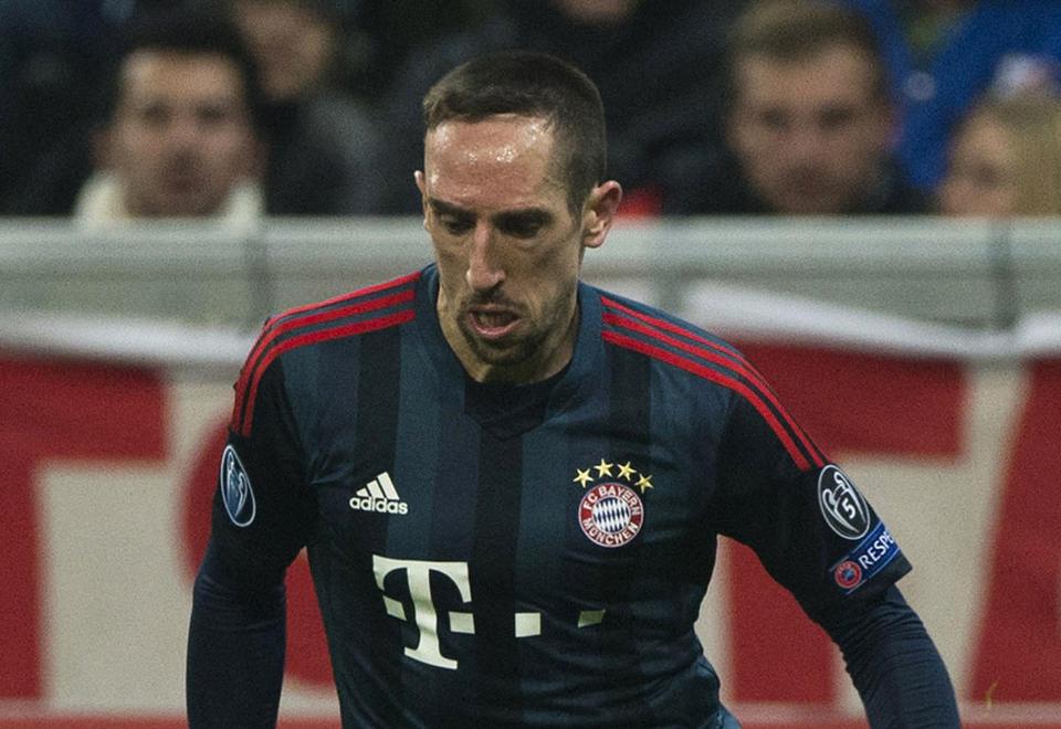 Bayern Munich hand Ribery 'heavy fine' for Dubai social media outburst