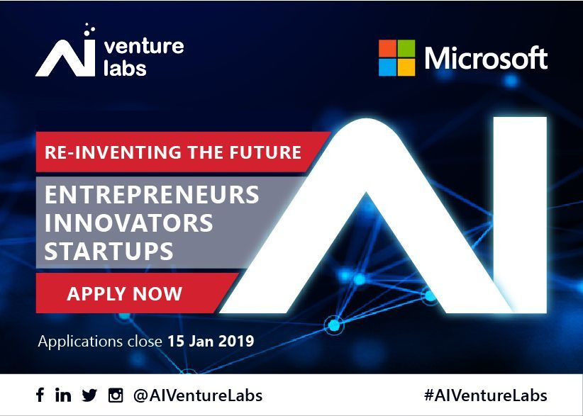 AI Venture Labs is partnering with Microsoft to accelerate AI startups re-inventing the future of industries