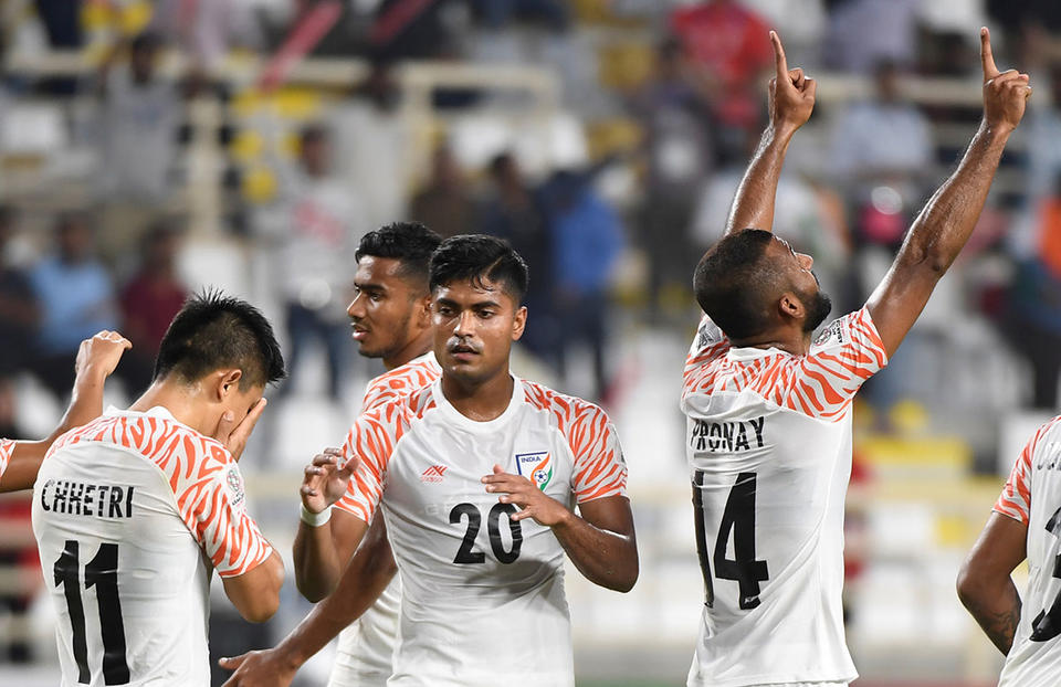 Cricket-mad India shock Thailand at Asian Cup football tournament
