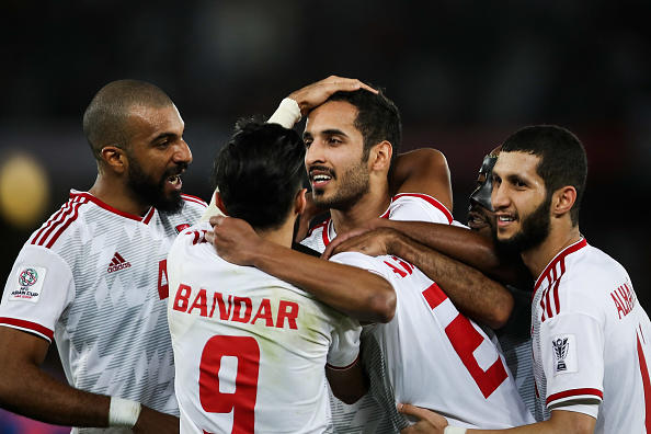 Hosts UAE beat India 2-0 to go top of Asian Cup group