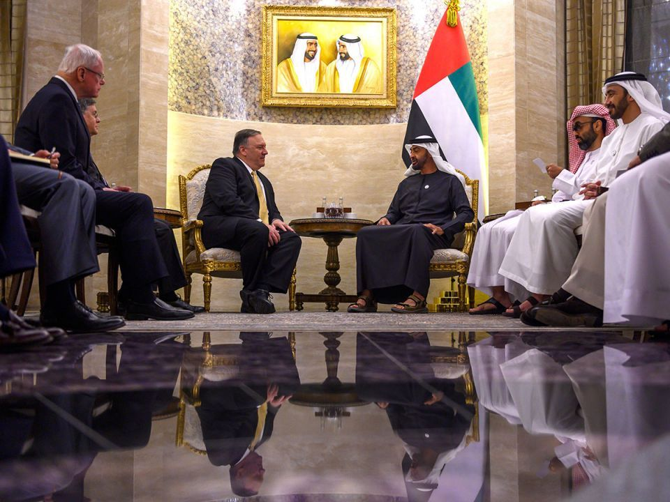 In pictures: US Secretary of State Mike Pompeo visit the UAE