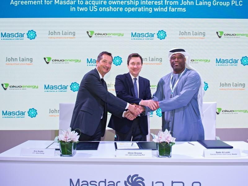 UAE's Masdar plans first US renewable energy investment