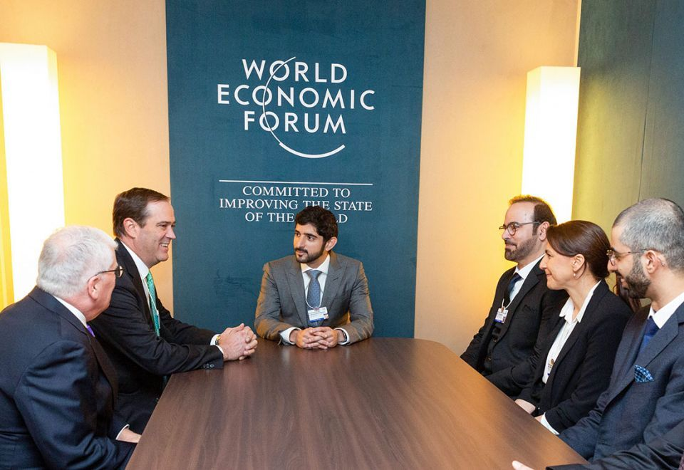 In pictures: Crown Prince of Dubai attends opening of Davos World Economic Forum
