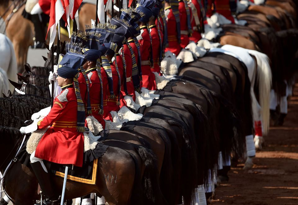 In pictures: India celebrated its 70th Republic Day with grand military parades