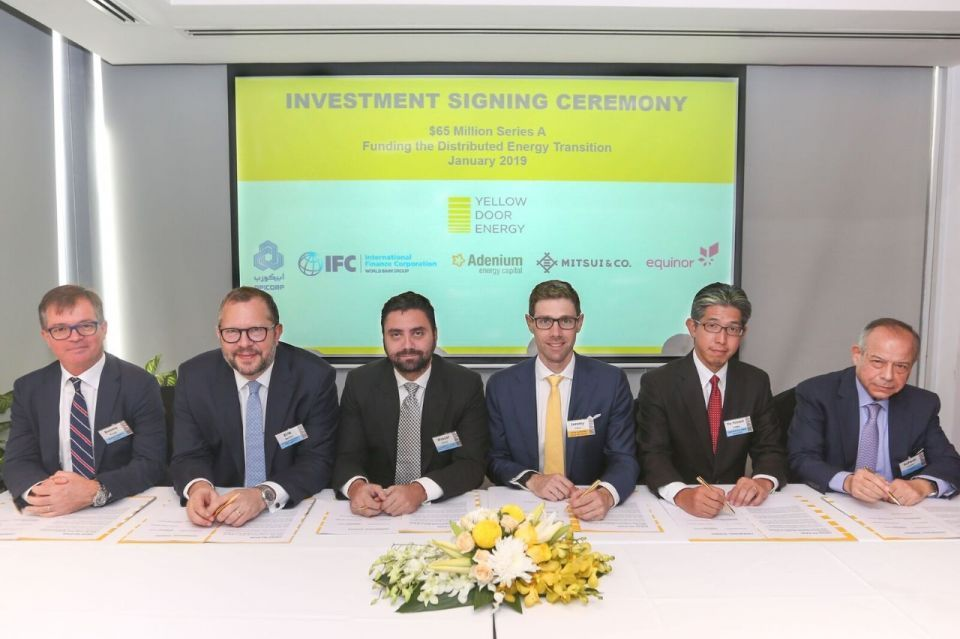 UAE solar firm Yellow Door Energy secures $65m investments